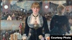 Эдуард Манэ, «Бар у Фалі-Бэржэр» (1882).