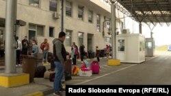 Македонско - српски граничен премин Табановце