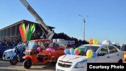 Özbəkistanda məhsul festivalı