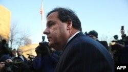 Крис Кристи, Нью-Джерси штатының губернаторы. Форт Ли, 9 қаңтар 2014 жыл
