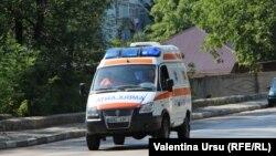 O ambulanță la Bălți