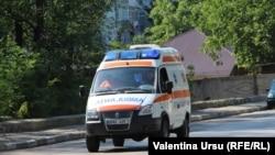 O ambulanţă la Bălţi