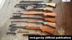 Belarus —Guns confiscated in Drybin district, 2019