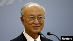 International Atomic Energy Agency Director General Yukiya Amano said the Iran nuclear deal remains 'fragile.'