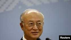 International Atomic Energy Agency (IAEA) Director-General Yukiya Amano (file photo)