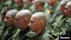 Призывники российской армии
