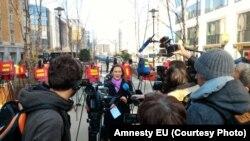 ایورنا مکگوان، مدیر بخش اروپای سازمان عفو بینالملل