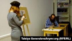 Aleksandra ve Aleksandr Krolikovski, Lvov, «Yañıdan başlamaq» temaşası