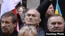 Беларусы Нью-Ёрку ўзялі ўдзел у мітынгу памяці загіблых на Майдане.
