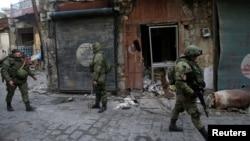 Сириядағы Ресей әскерилері (Көрнекі сурет).