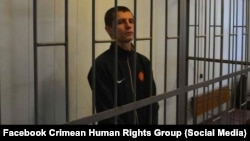 Андрей Коломиец в суде. Архивное фото