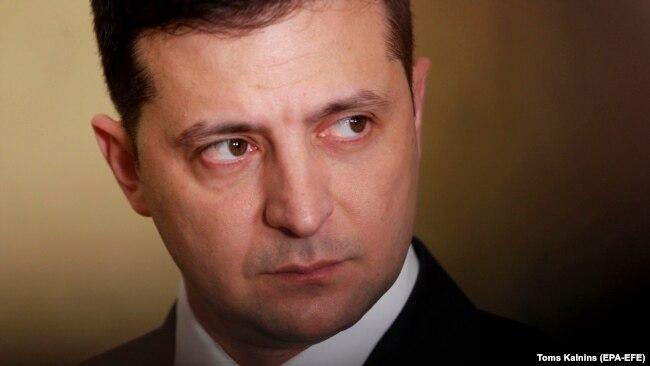 Украинский президент Владимир Зеленский