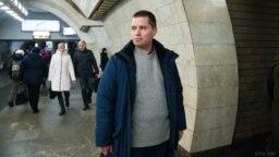 Станислав Печёнкин в Киеве после освобождения из плена