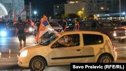 Litije u kolima - Podgorica 19. juli, 2020.