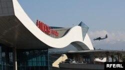 Пассажирский терминал алматинского аэропорта.
