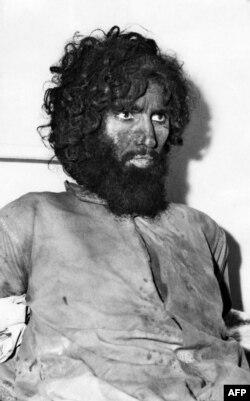 جهیمان العتبیه پس از بازداشت
