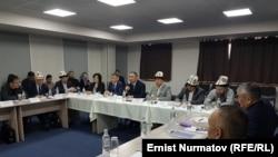 Круглый стол к Бишкеке. 27 марта