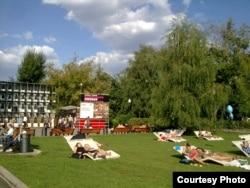Парк Горького после реконструкции, август 2013 года