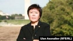 Замира Сыдыкова, бывший посол Кыргызстана в США, редактор издающейся в Кыргызстане газеты ResPublica.