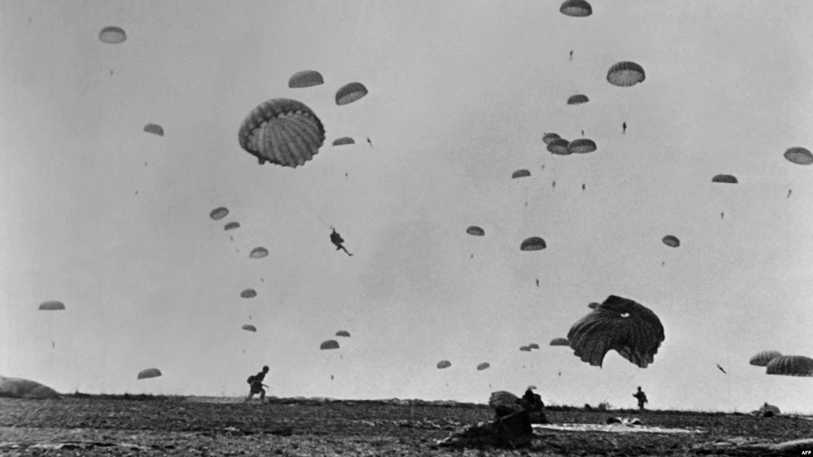 Высадка парашютистов в Нормандии