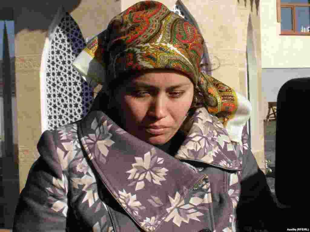 Reshat's widow Zarina Ametova