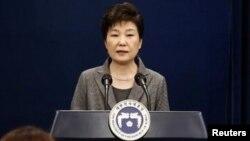 Пак Кын Хе, Оңтүстік Кореяның биліктен кетірілген президенті.