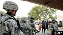 نیروهای ارتش آمریکا در عراق (عکس از AFP)