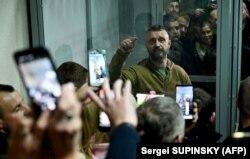Андрій Антоненко в суді, архівне фото