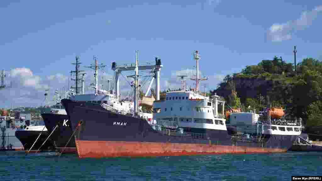 Средний морской танкер «Иман» был построен в 1966 году на судоверфи «Репола» в финском городе Рауми, и в том же году прибыл в Севастополь
