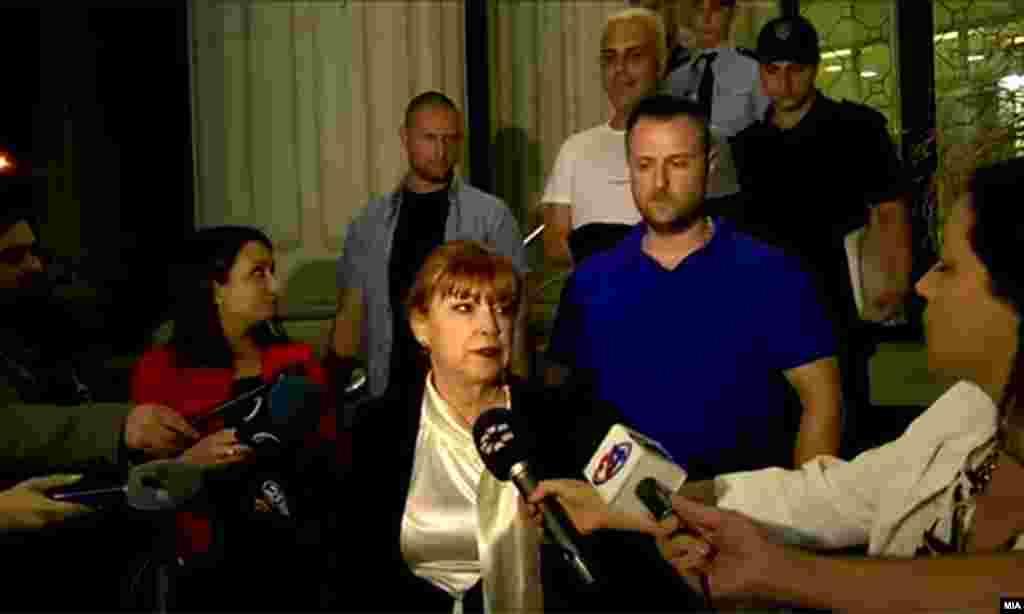 МАКЕДОНИЈА - Можно истрагата за Рекет да се прошири и за други лица ако се обезбедат цврсти докази, изјави обвинителката Вилма Русковска.