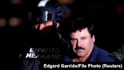 Хоакин Гусман Лоэра, также известный как Эль Чапо.