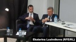Максим Корольков и губернатор Кировской области Игорь Васильев
