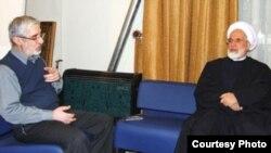 مهدی کروبی و میرحسین موسوی چهارشنبه شب با یکدیگر دیدار کردند