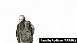 Карикатура азербайджанского художника Рашида Шерифа.