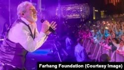 Prerevolutionary Iranian pop star Ebrahim Hamedi