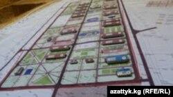 Камбар-Ата1 ГЭСинин макети