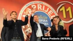 Lideri stranaka koalicije za Evropsku Crnu Goru