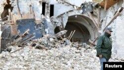 Землетрясение в воскресенье стало самым сильным в Италии за последние 36 лет