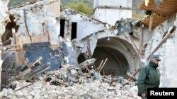 Разрушения в центральной Италии после землетрясения 26 октября 2016 года