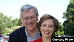 James Rosapepe și soția sa Sheilah Kast în 2009