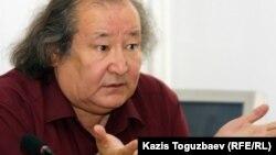Театр режиссері Болат Атабаев. Алматы, 20 маусым 2011 жыл.