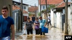 Poplave u Skoplju, ilustrativna fotografija