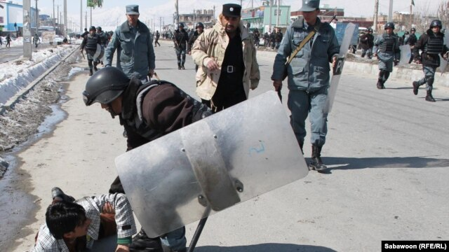 Several Afghan protesters and two NATO soldiers have been killed protest-related violence.