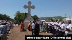 Поклонный крест в Старом Крыму