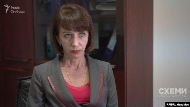 Керівник «Чорноморнафтогазу» Світлана Нєжнова