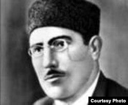 Repressiya olunmuş Azərbaycan şairi Hüseyn Cavid.