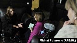 Angelina Jolie, în dialog cu Godana Knezevic