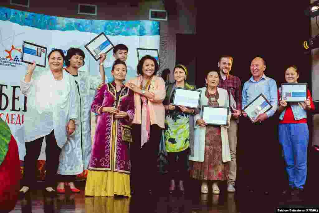 Победители конкурса «Шебер».
