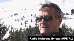 Петре Димитриевски, менаџер на скијачкиот центар Попова Шапка.