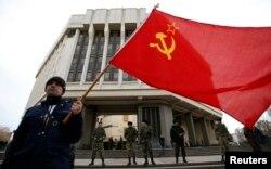 Проросійський мітинг у Сімферополі, 6 березня 2014 року